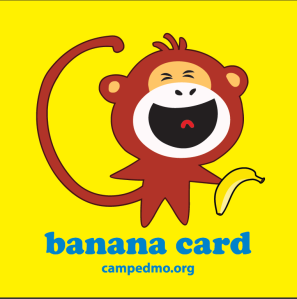 Edmo Vibe Game Banana Card