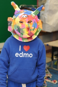 Edmo Sweatshirt Alien Mask